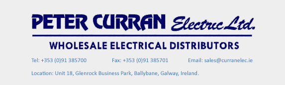 Peter Curran Electric - Wholesale Electrical Distributors