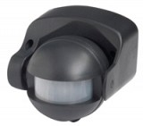 Motion Detector 180degree PIR (Black)